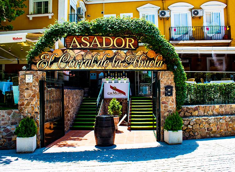 Restaurante en Aranjuez